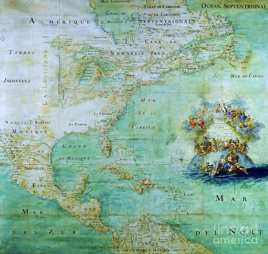Map Of America  Mixed Media  - Map Of America  Fine Art Print
