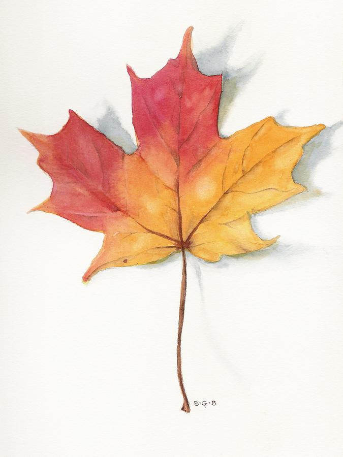 Maple Leaf II Painting