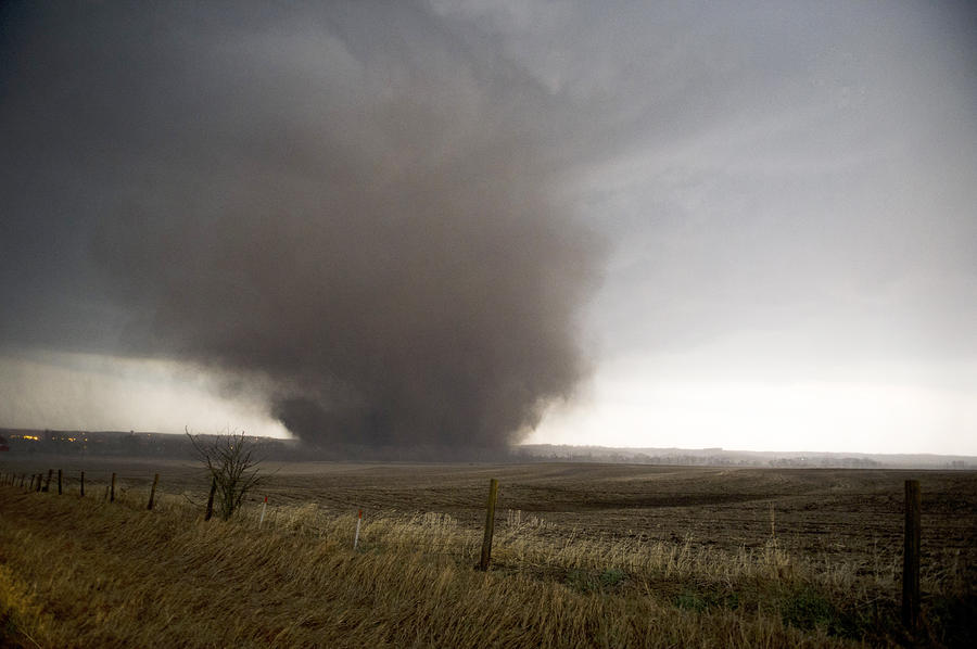 Mapleton Wedge Tornado PhotographWedge Tornado