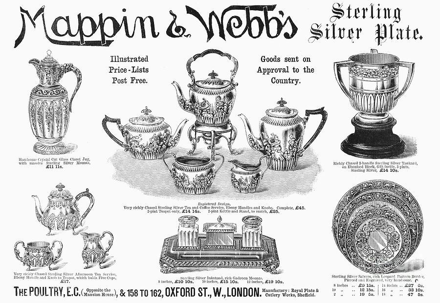 Mappin & Webbs, 1892 Photograph