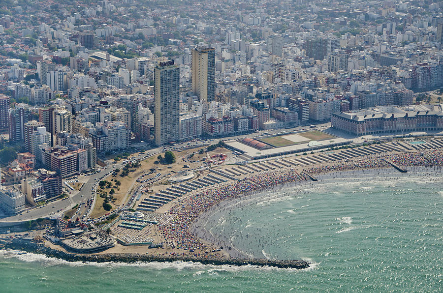 Mar Del Plata Argentina  City new picture : Mar Del Plata Beach is a photograph by Agustín Faggiano Fotografía ...