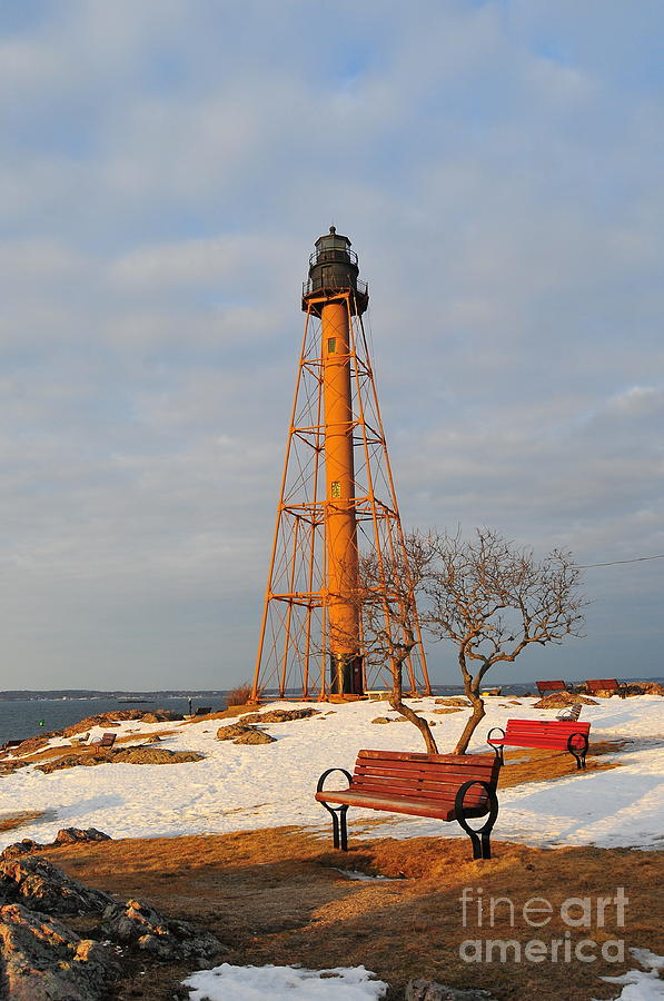 Marblehead Light Photograph