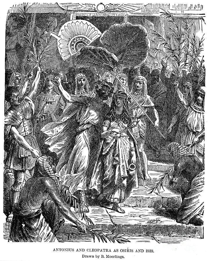 Marc Antony & Cleopatra Photograph