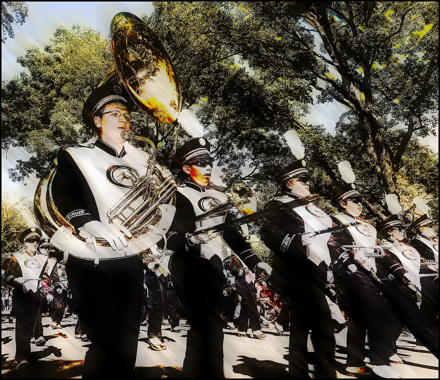 Marching Band Photograph