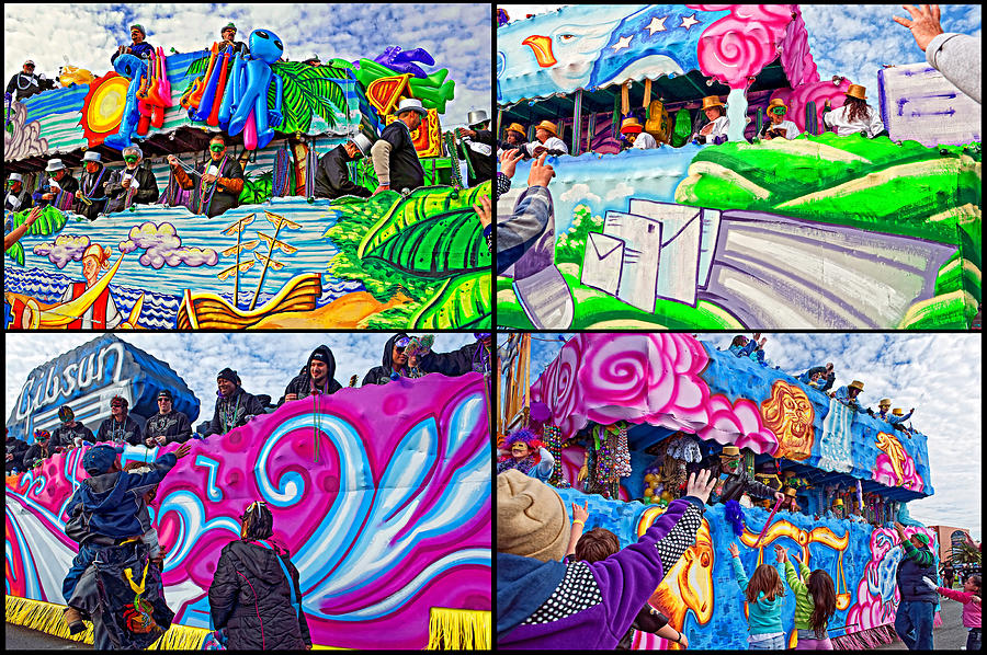 Mardi Gras Fun Photograph  - Mardi Gras Fun Fine Art Print