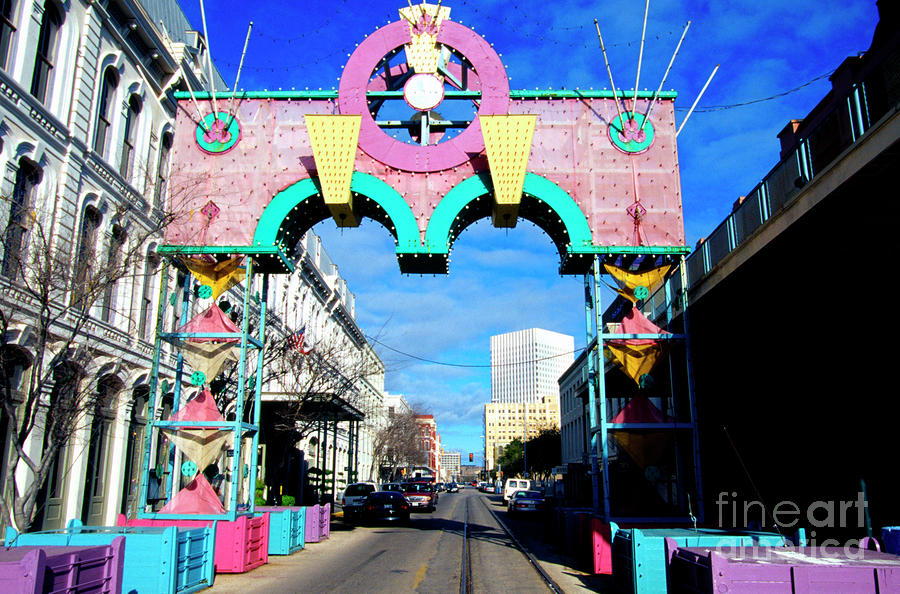 Mardi Gras In Galveston Photograph  - Mardi Gras In Galveston Fine Art Print