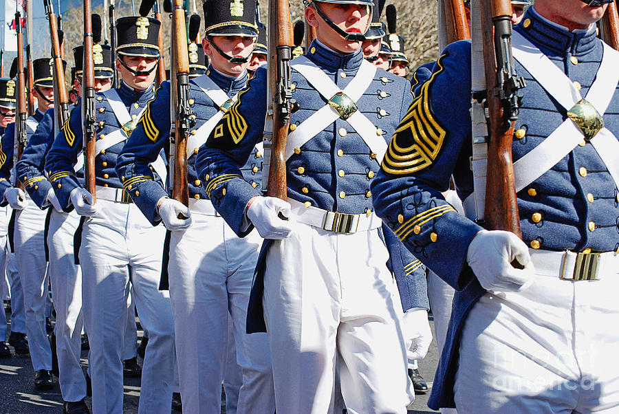 Mardi Gras Marching Soldiers Photograph