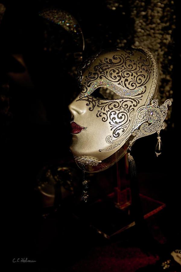 Mardi Gras Mask Photograph