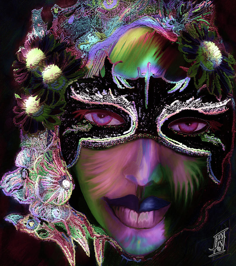 Mardi Nocturne Painting