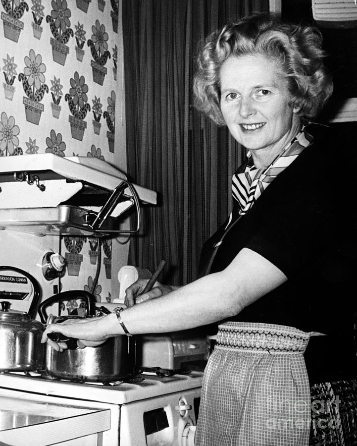 Margaret Thatcher (1925- ) Photograph