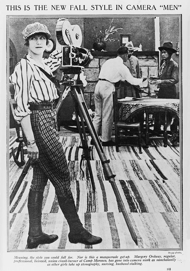 Margery Ordway, Woman Cinematographer Photograph