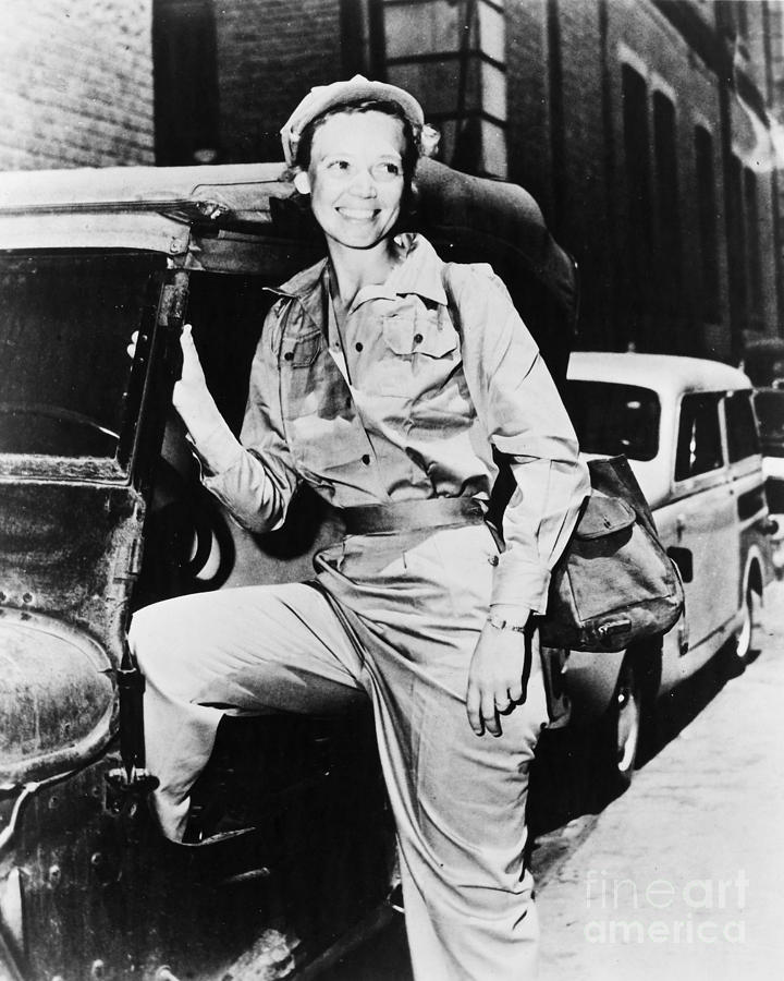 Marguerite Higgins Photograph
