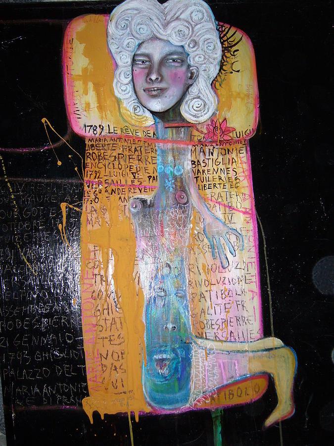 Maria Antonietta Al Patibolo Painting