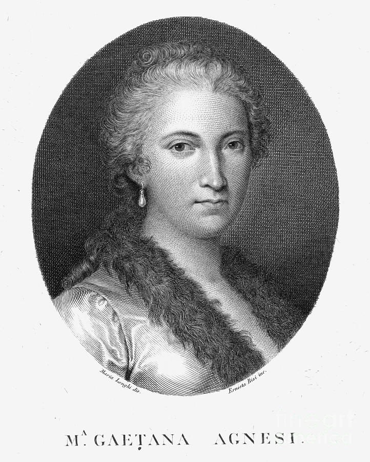 a biography of maria gaetana agnesi a woman mathematician Italian mathematician, linguist and philosopher maria gaetana agnesi (may 16   female mathematician of the western world she was born and died in milan one   agnesi devoted only about 20 years of her life to mathematics in 1771 she.