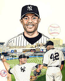 Mariano Rivera Drawing
