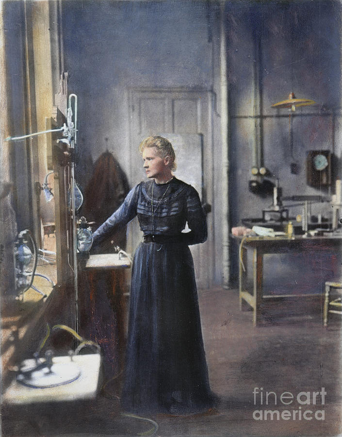 Marie Curie (1867-1934) Photograph