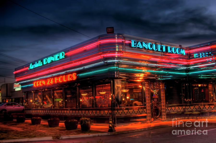 Marietta Diner Photograph