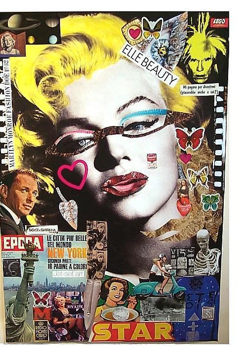 Marilyn Monroe Fashion Doe 1962 Mixed Media