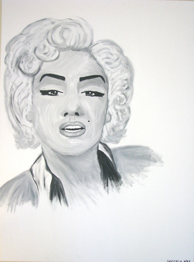 Marilyn Munroe Painting