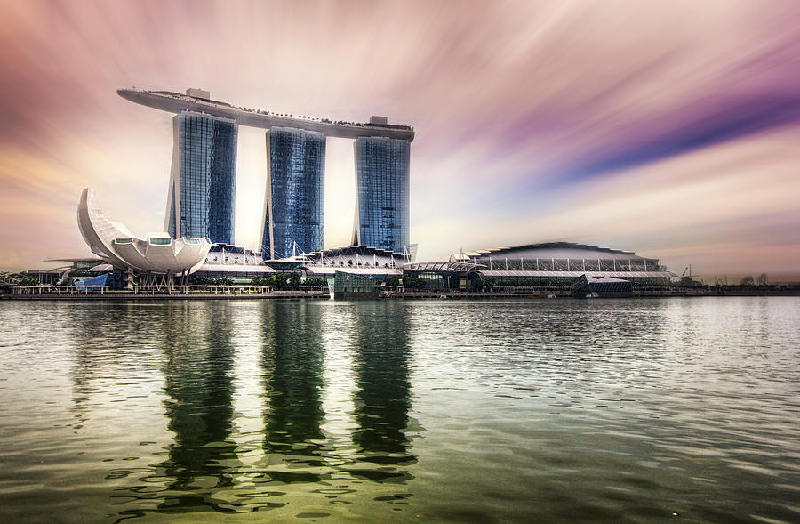 Marina bay sands photograph by benjamin chee for Marina bay sands architecture concept