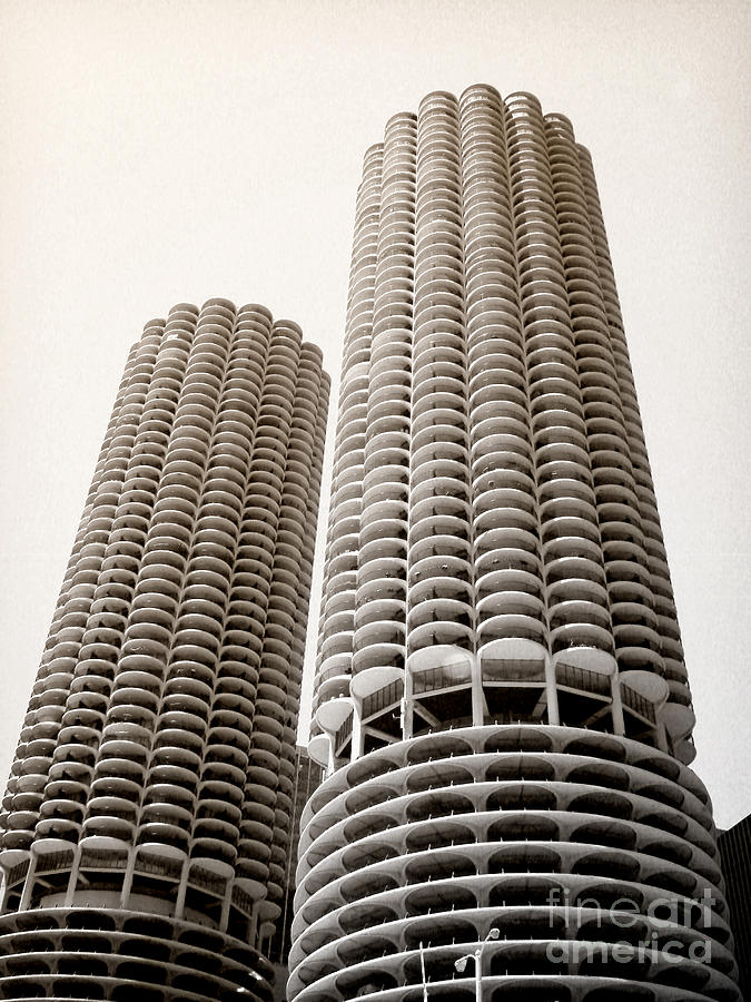 Marina City Chicago Photograph  - Marina City Chicago Fine Art Print