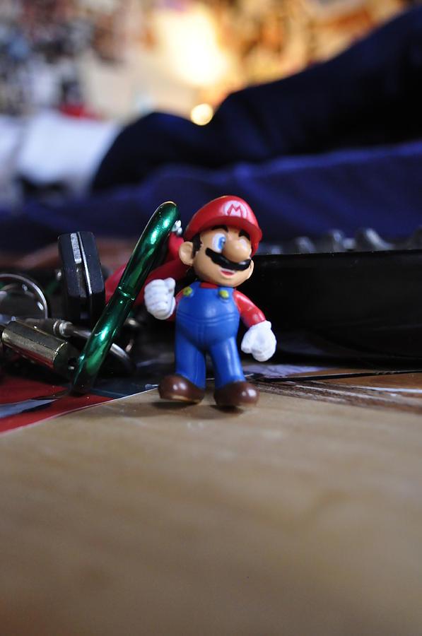 Mario Photograph