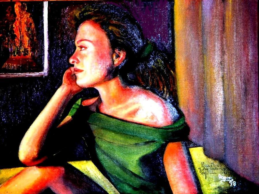 Patricia Velasquez Poster Marisa painting by patricia velasquez de ...