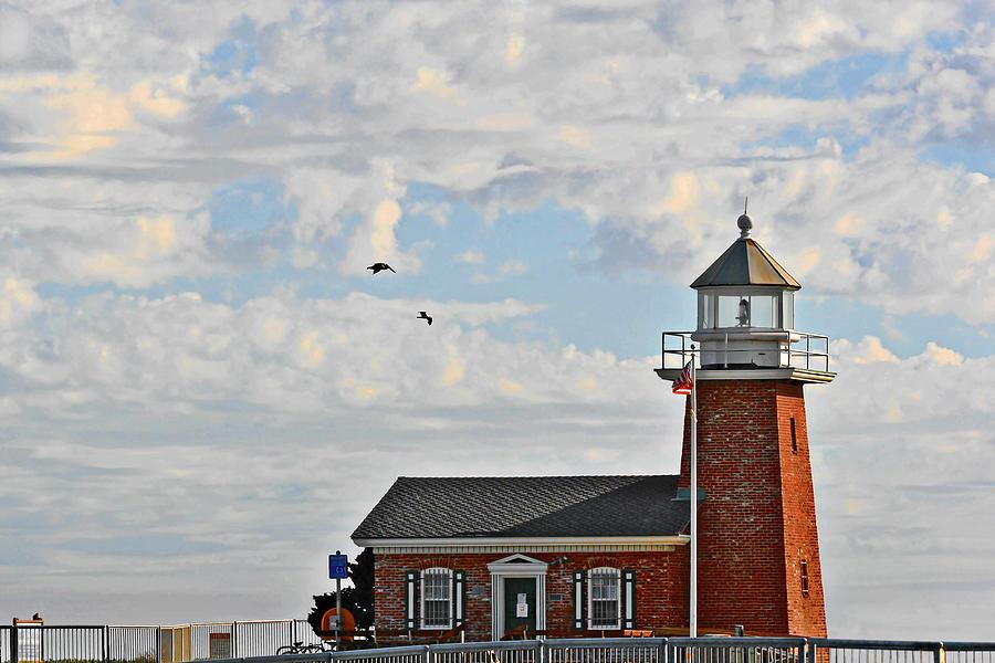 Mark Abbott Memorial Lighthouse  - Home Of The Santa Cruz Surfing Museum Ca Usa Photograph