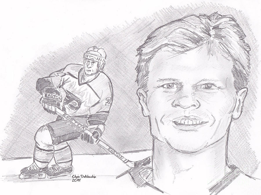 Mark Howe Drawing