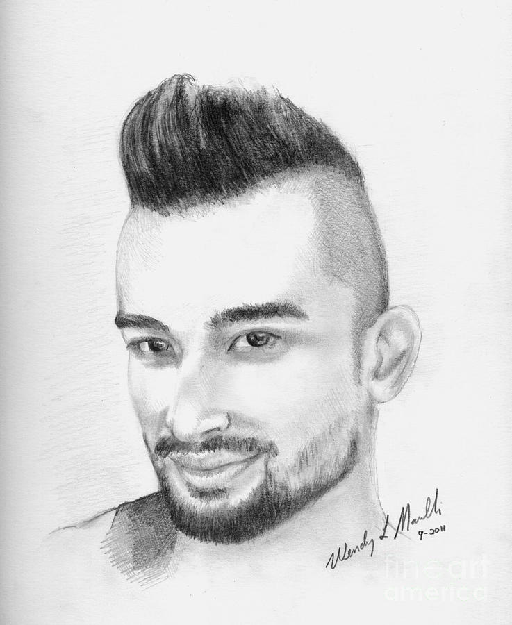 Mark Kanemura Drawing Mark Kanemura Fine Art Print Wendy Marelli