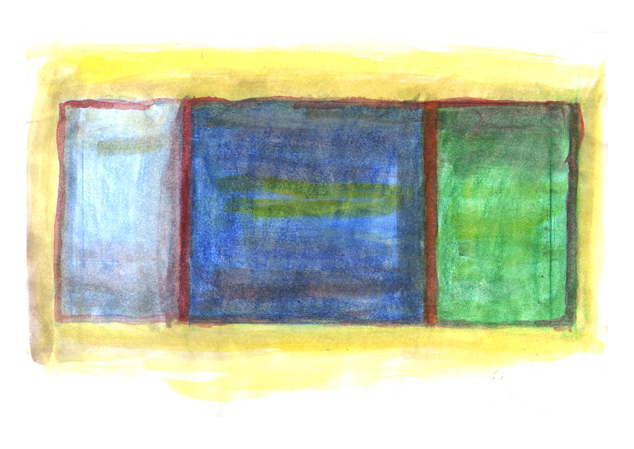 Mark Rothko Flying Southwest Painting