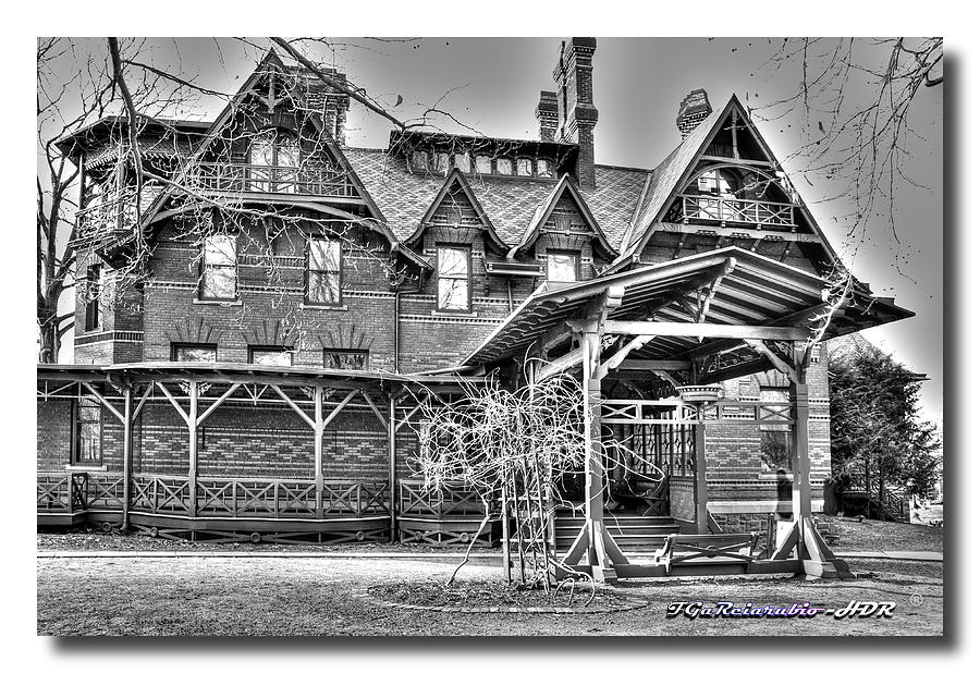 Mark Twain House II Photograph  - Mark Twain House II Fine Art Print