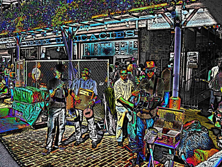 Market Interlude 2 Digital Art  - Market Interlude 2 Fine Art Print