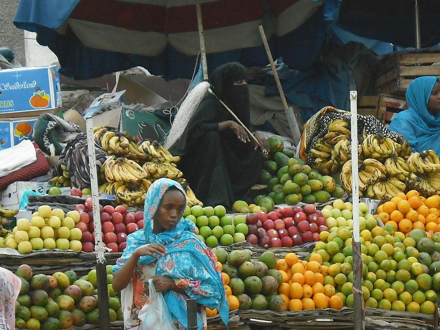 Market Of Djibuti-2 Photograph