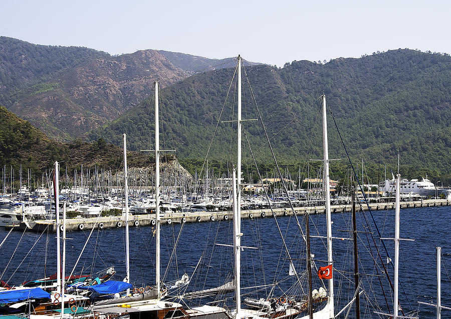 Marmaris Port Photograph