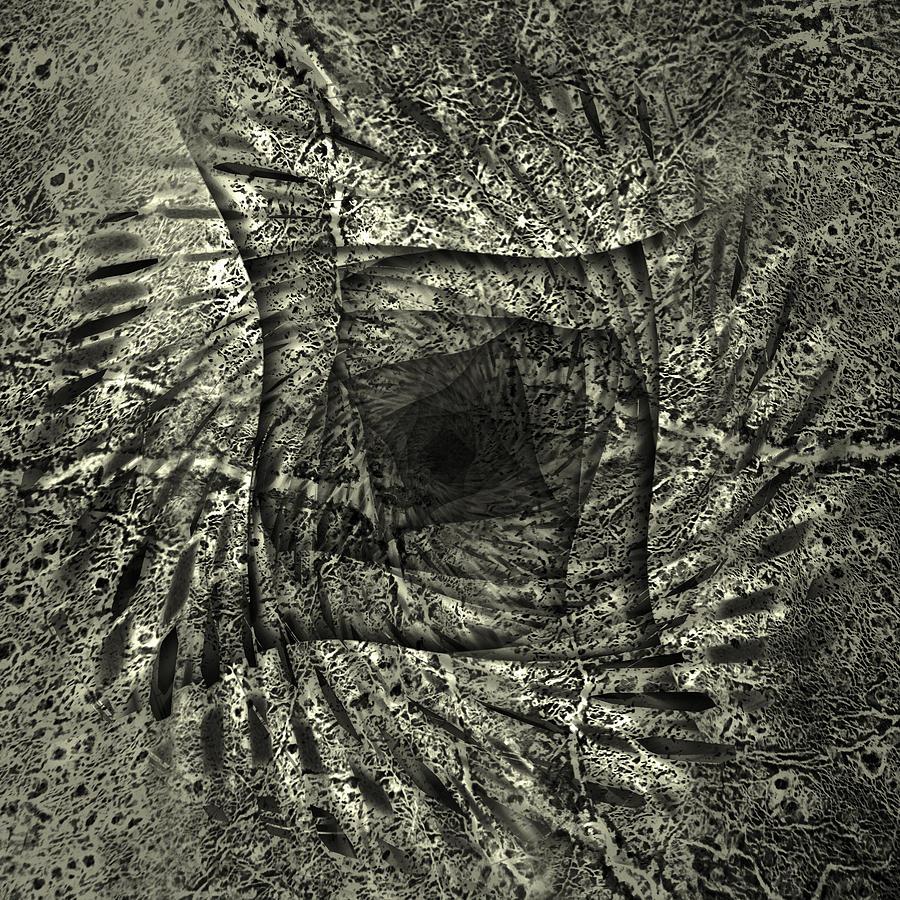 Mars In The Square Digital Art