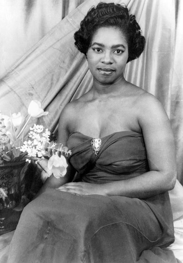 Martha Flowers (c1920- ) Photograph