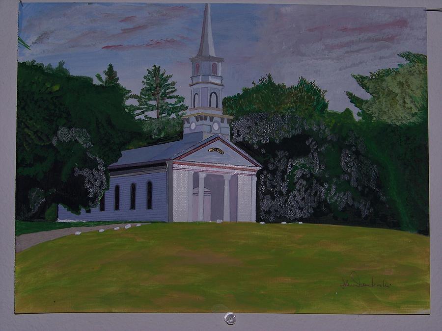 Martha Mary Chapel Painting