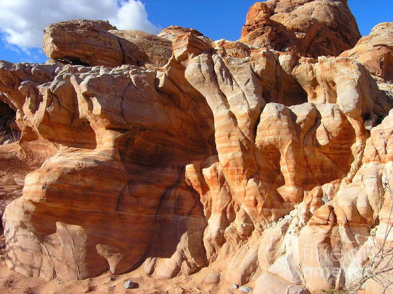 Martian Cliffs Photograph