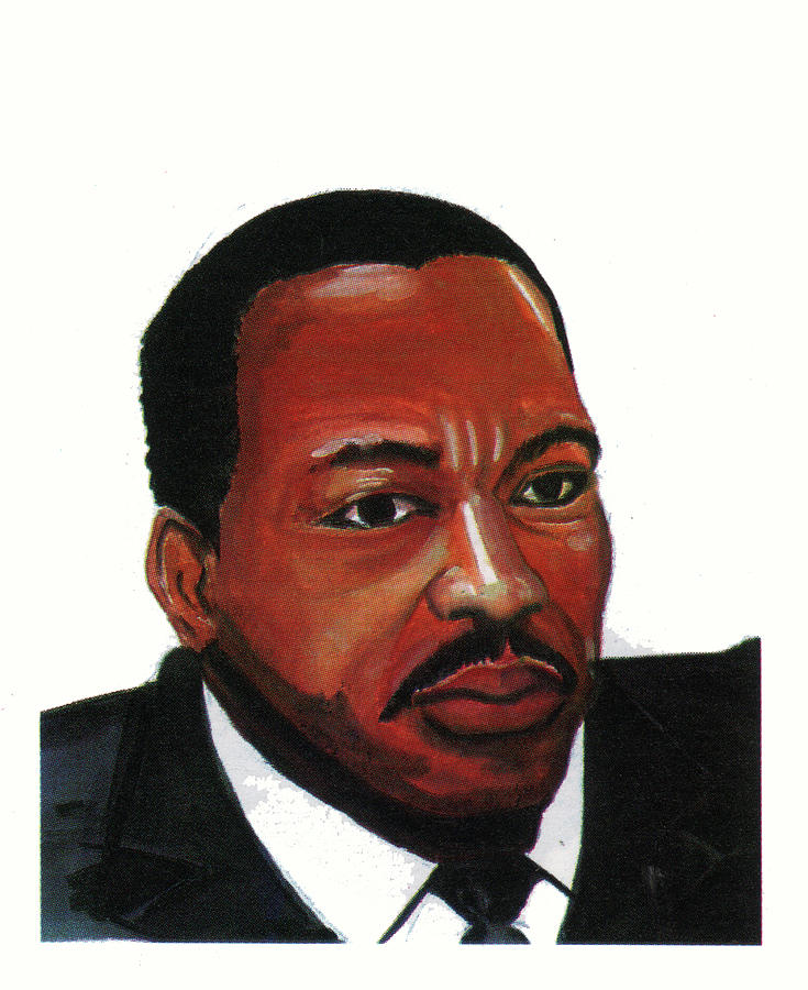 Martin Luther King Jr Painting  - Martin Luther King Jr Fine Art Print