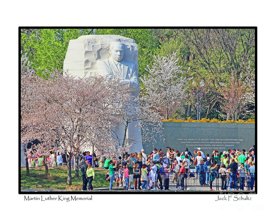 Martin Luther King Jr. Memorial Photograph  - Martin Luther King Jr. Memorial Fine Art Print