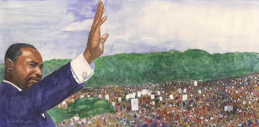 Martin Luther King Jr. Painting