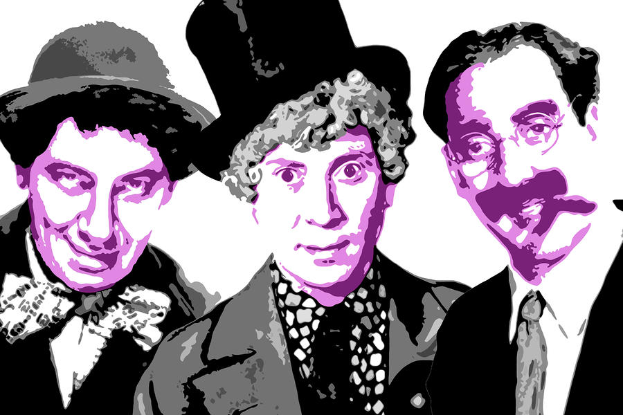 Marx Brothers Digital Art