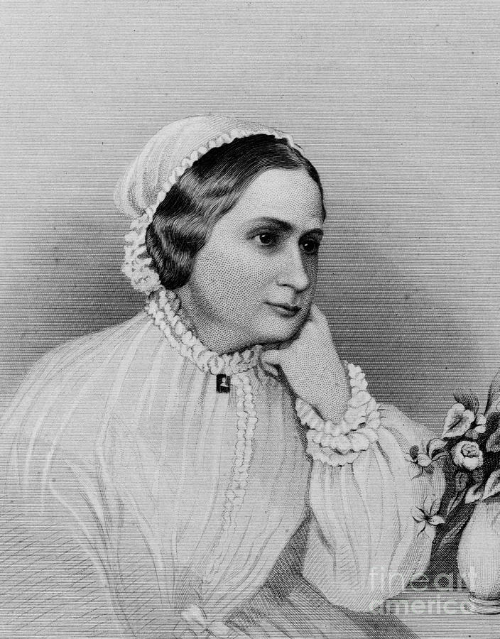 Mary Custis Lee 1806 1873 Photograph By Granger