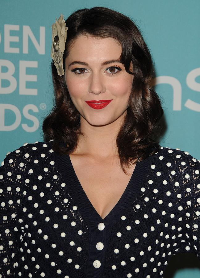 Mary Elizabeth Winstead In Attendance Photograph  - Mary Elizabeth Winstead In Attendance Fine Art Print