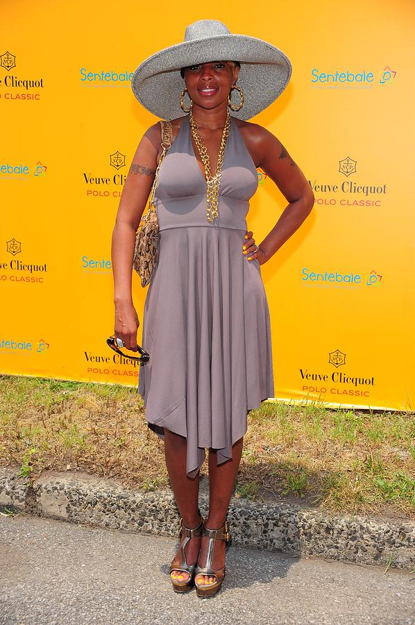 Mary J. Blige At A Public Appearance Photograph