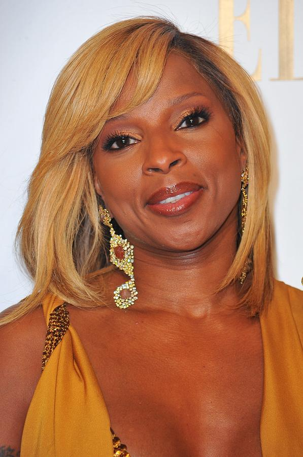 Mary J. Blige In Attendance For 2nd Photograph  - Mary J. Blige In Attendance For 2nd Fine Art Print