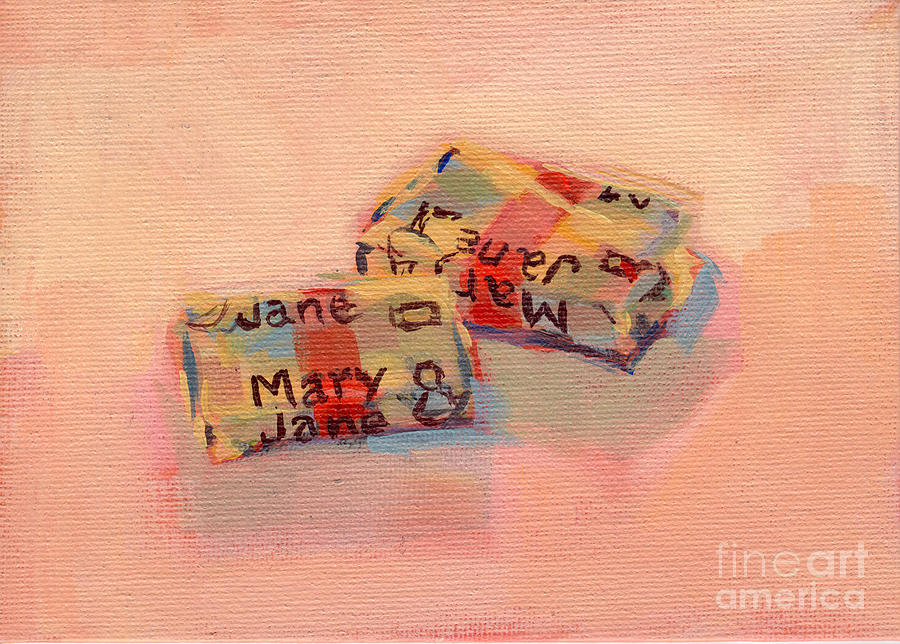 Mary Janes Painting  - Mary Janes Fine Art Print