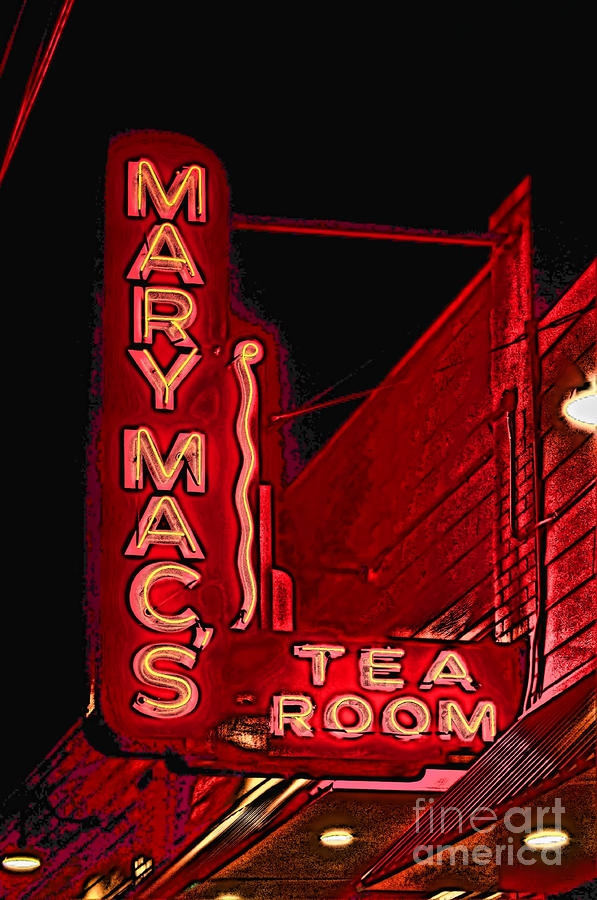 Mary Macs Resturant Atlanta Photograph