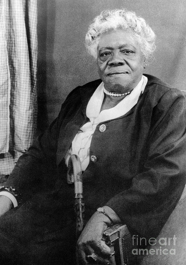 Mary Mcleod Bethune Photograph